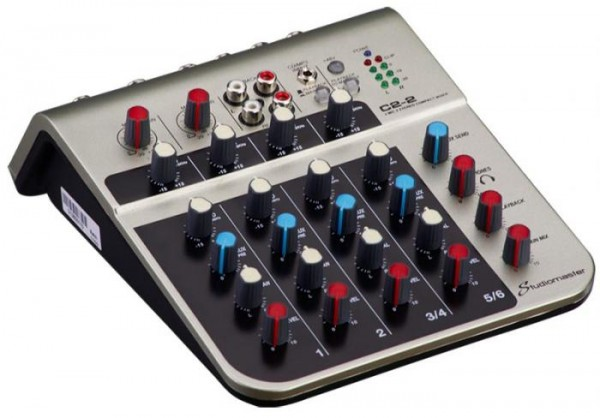 Studiomaster C2-2 6 Channel Compact Audio Mixer