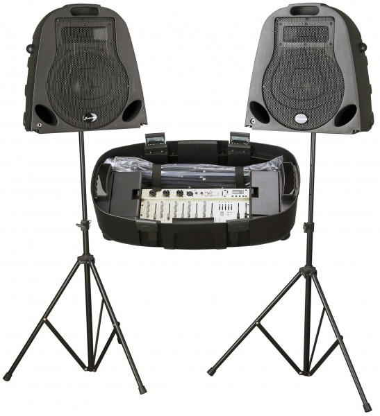 Studiomaster Walkabout S 300W, 5 Channel Portable PA System