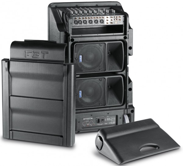 FBT AMICO 10 USB Integrated Active Portable PA System 3